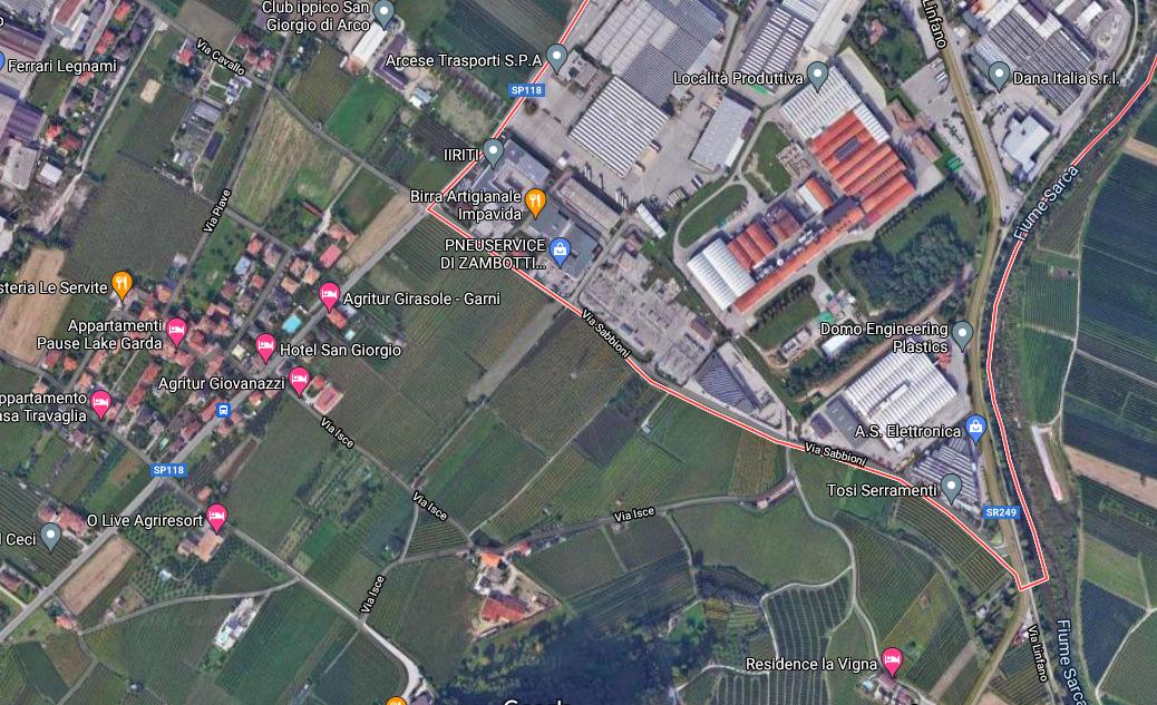 Capannoni in vendita e affitto zona artigianale Arco Arco (TN) - Trentino Alto Adige